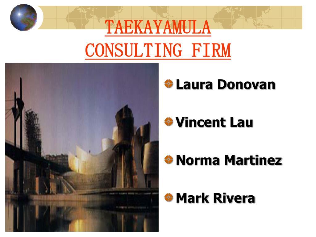 taekayamula consulting firm l.