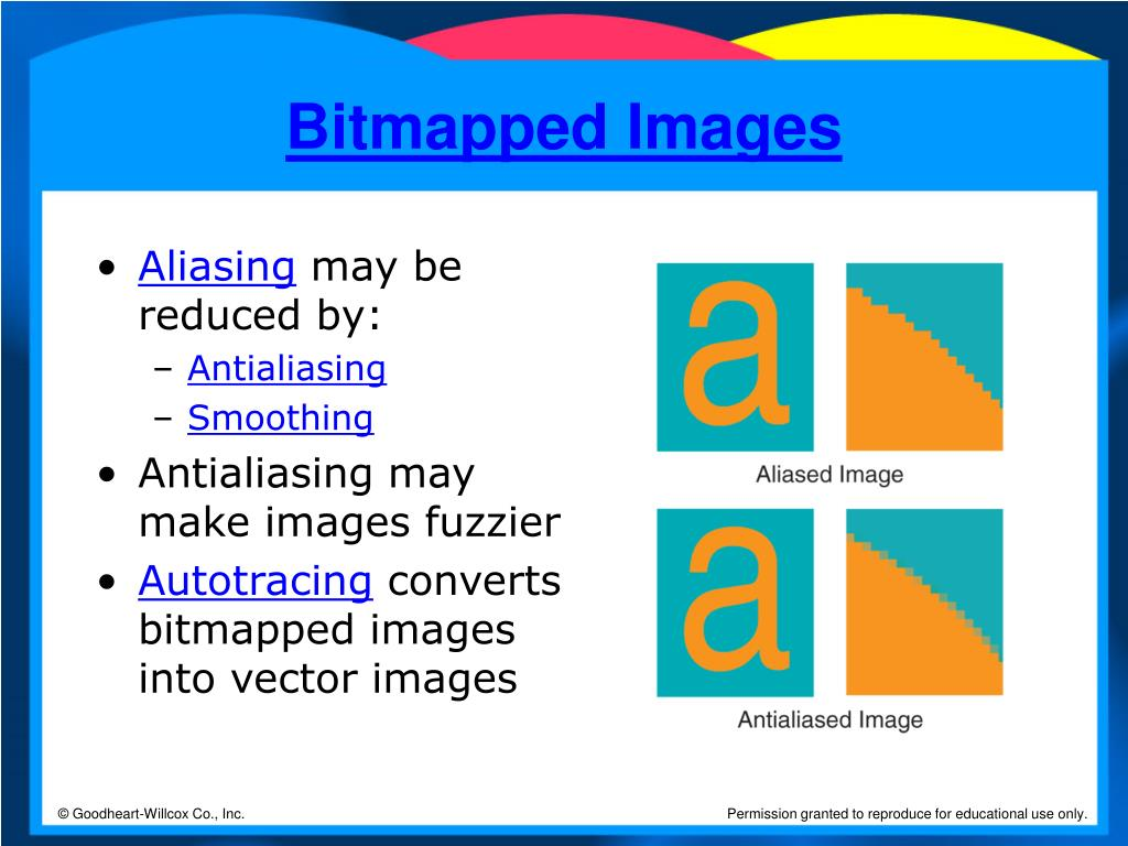 Bitmapped Images