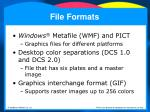 file formats36