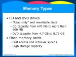 memory types9