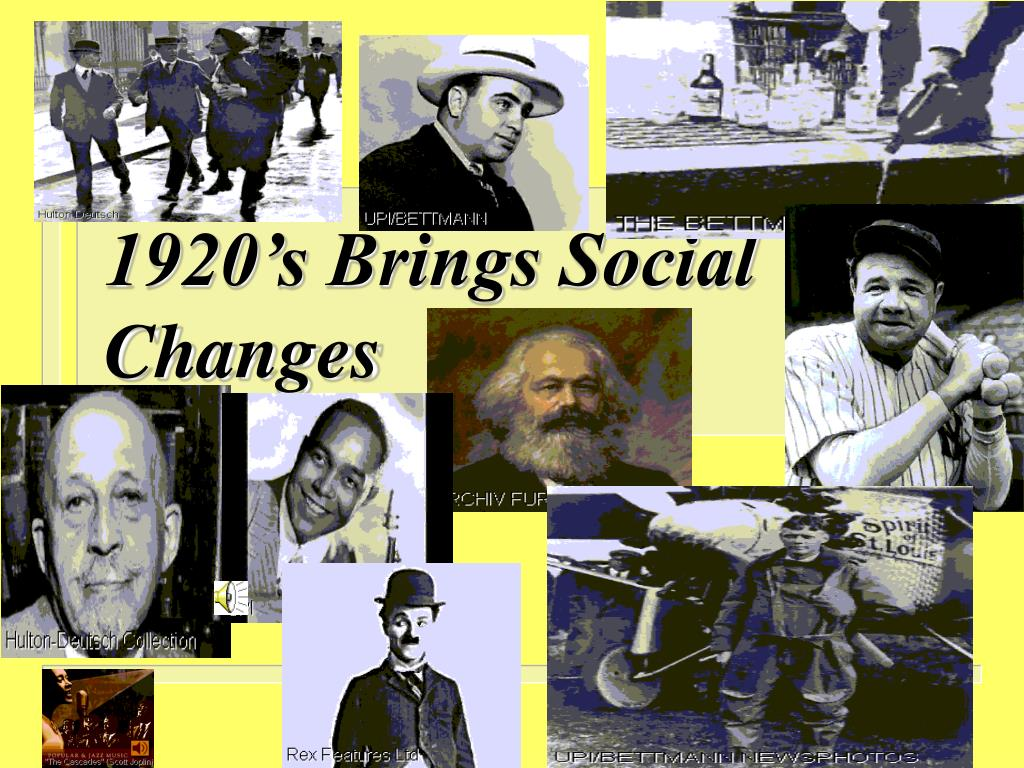 changes of america in the 1920s - america in the 1920's the 1920's was a period of great change in america it was a decade which saw the development of mass production, cinema, jazz and the introduction of prohibition indeed, the 1920's have often been described as ''the roaring 20's'' a time when life was good for all americans.