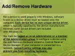 add remove hardware5