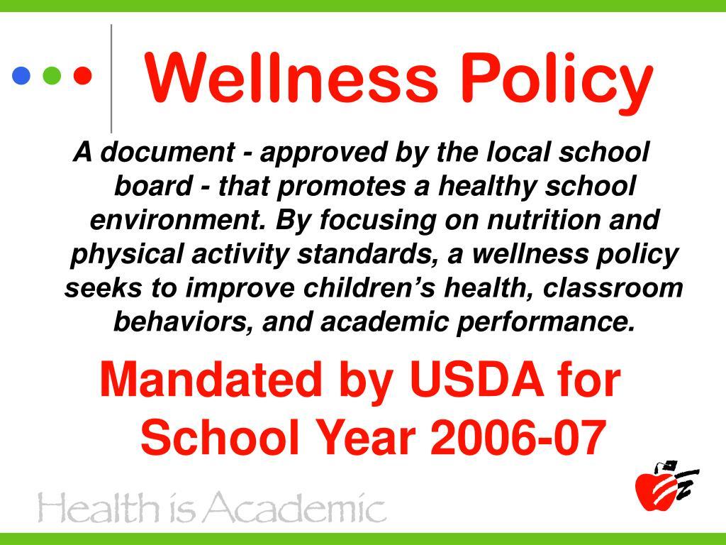 Wellness Policy