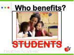 who benefits33