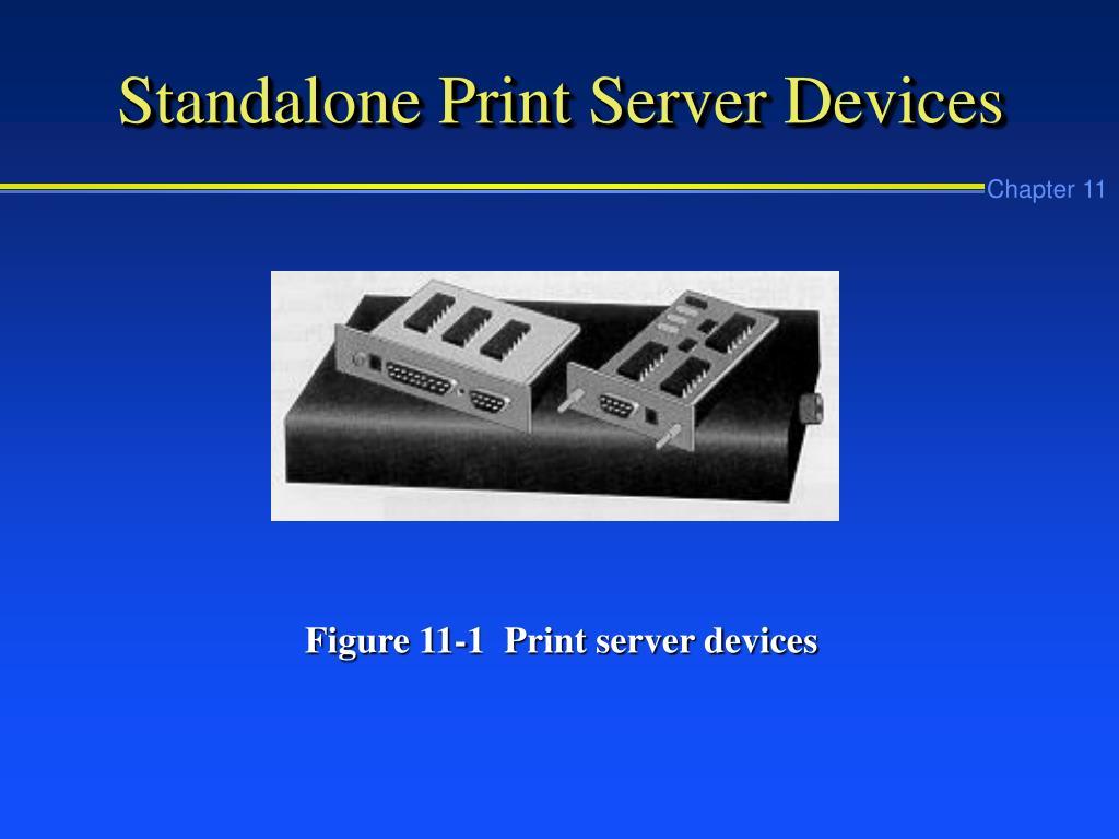Standalone Print Server Devices