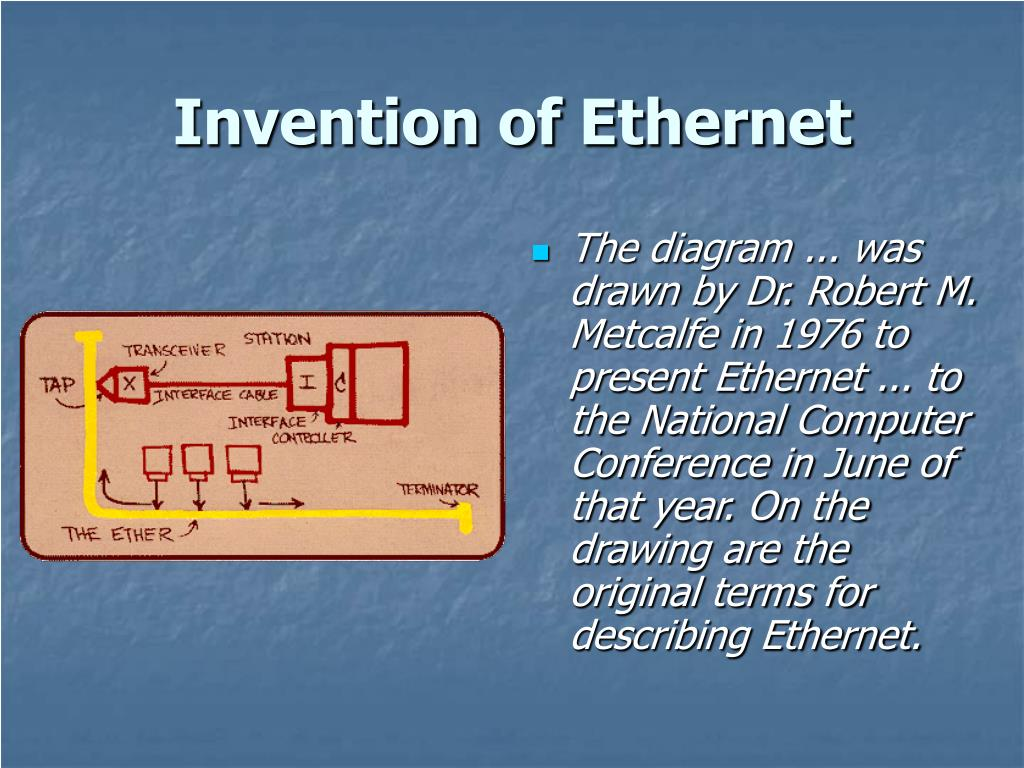 Invention of Ethernet