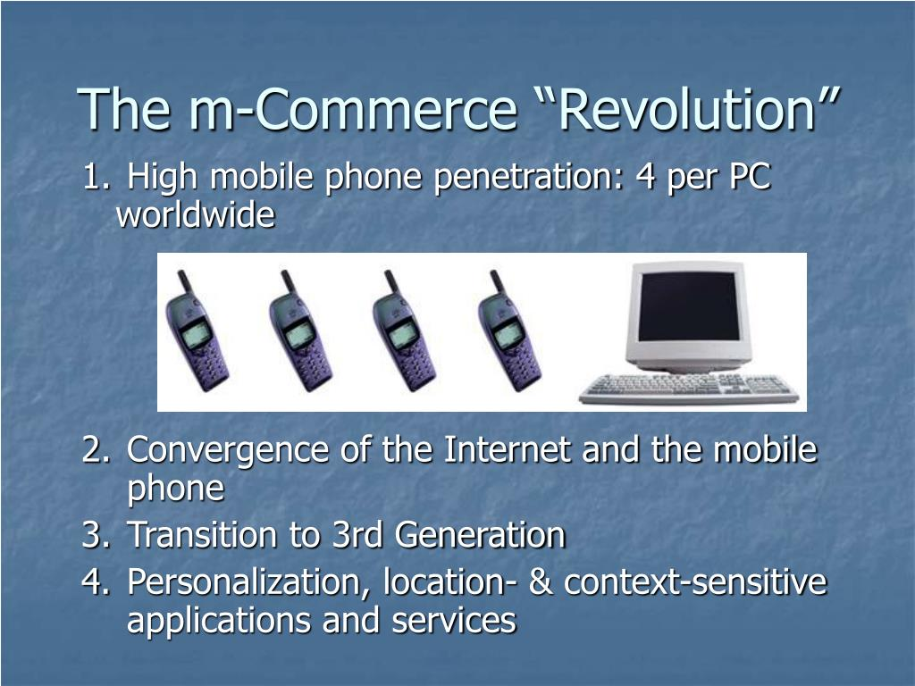 "The m-Commerce ""Revolution"""