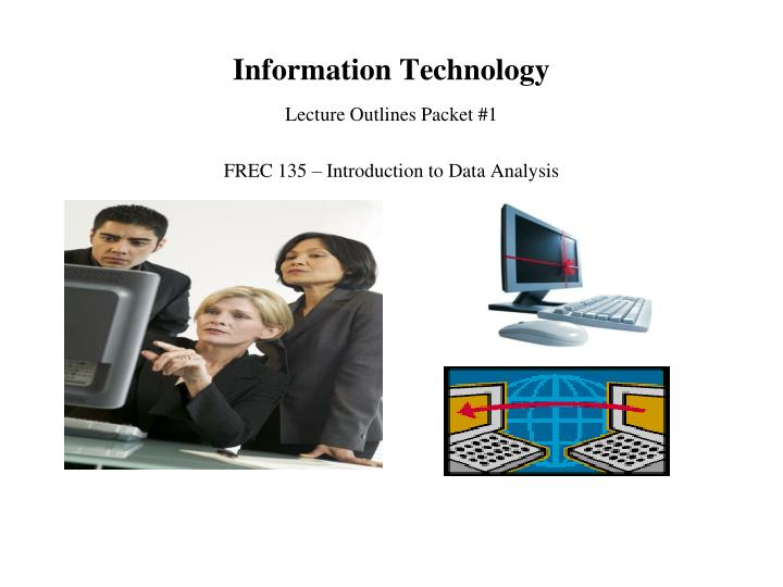 an analysis of computer technology Use of technology in intelligence fusion centers an oracle white paper april 2007 analysis, technology can provide methods and means for the collection.