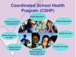coordinated school health program cshp