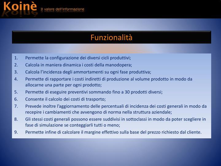 Funzionalit