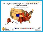 obesity trends among u s adults hsp interface rwjf expansion based on prevalence data