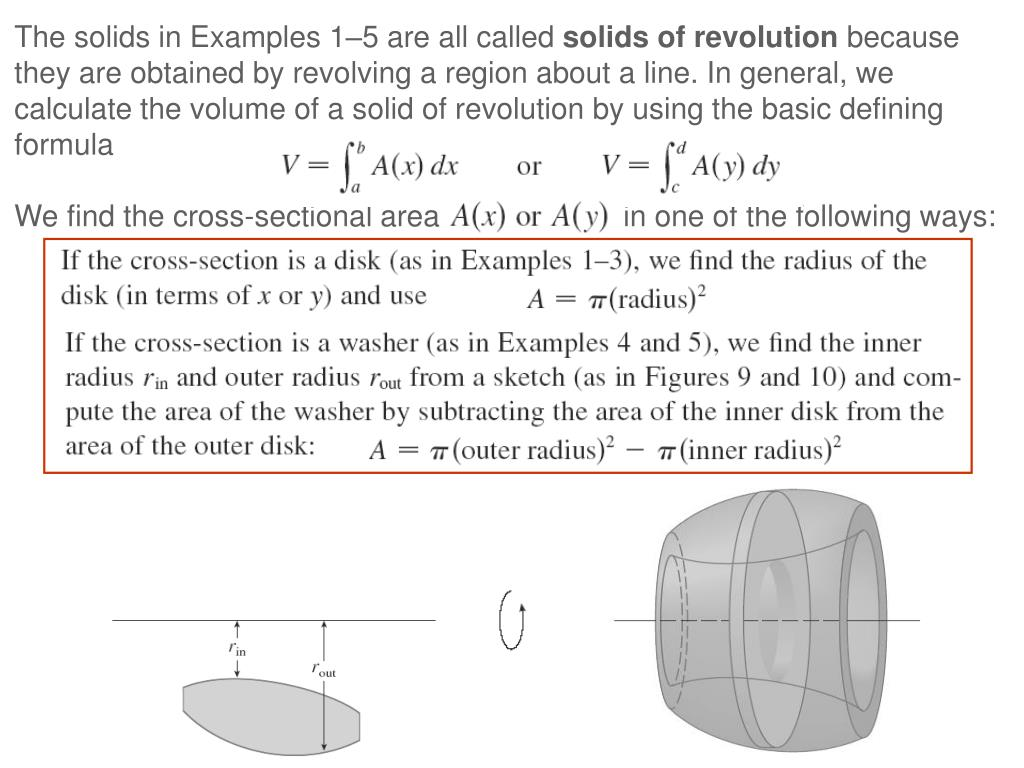 The solids in Examples 1–5 are all called