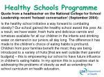 healthy schools programme11