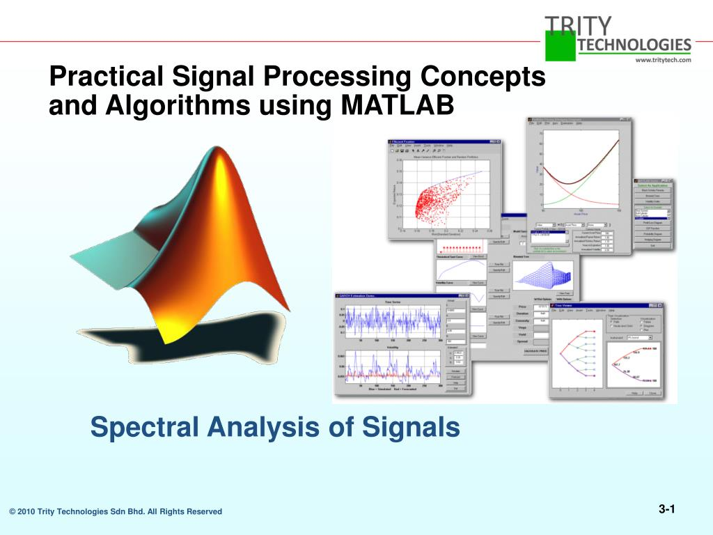 PPT - Practical Signal Processing Concepts and Algorithms using