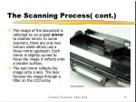 the scanning process cont10