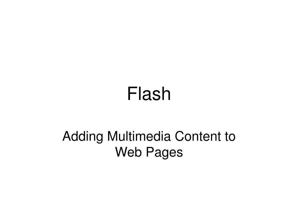flash l.
