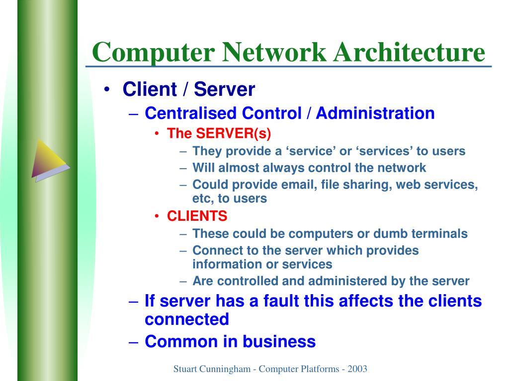 Computer Network Architecture