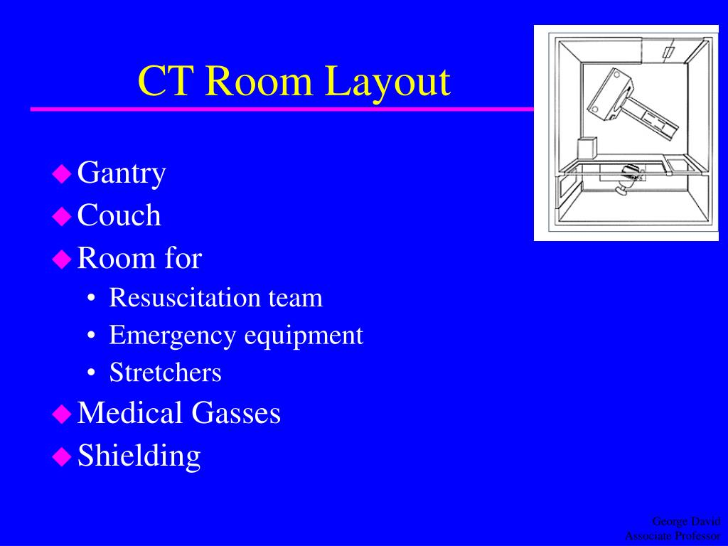 CT Room Layout
