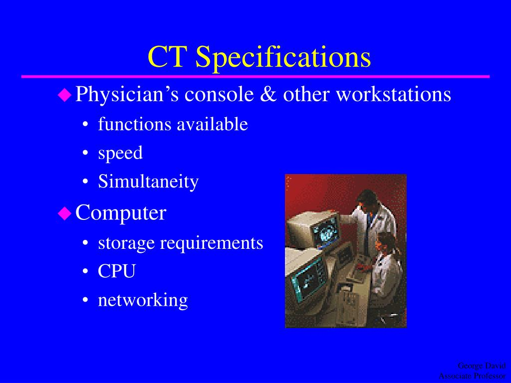 CT Specifications