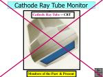 cathode ray tube monitor