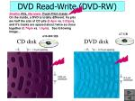 dvd read write dvd rw21