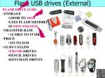 flash usb drives external
