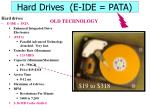 hard drives e ide pata