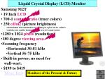 liquid crystal display lcd monitor
