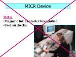micr device