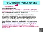 rfid radio frequency id40