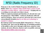 rfid radio frequency id41