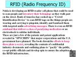 rfid radio frequency id42