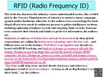 rfid radio frequency id43