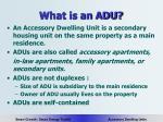what is an adu