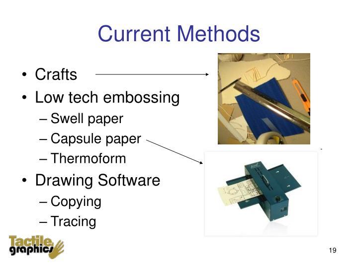 Current Methods
