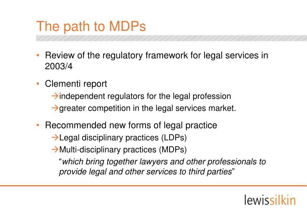 The path to MDPs