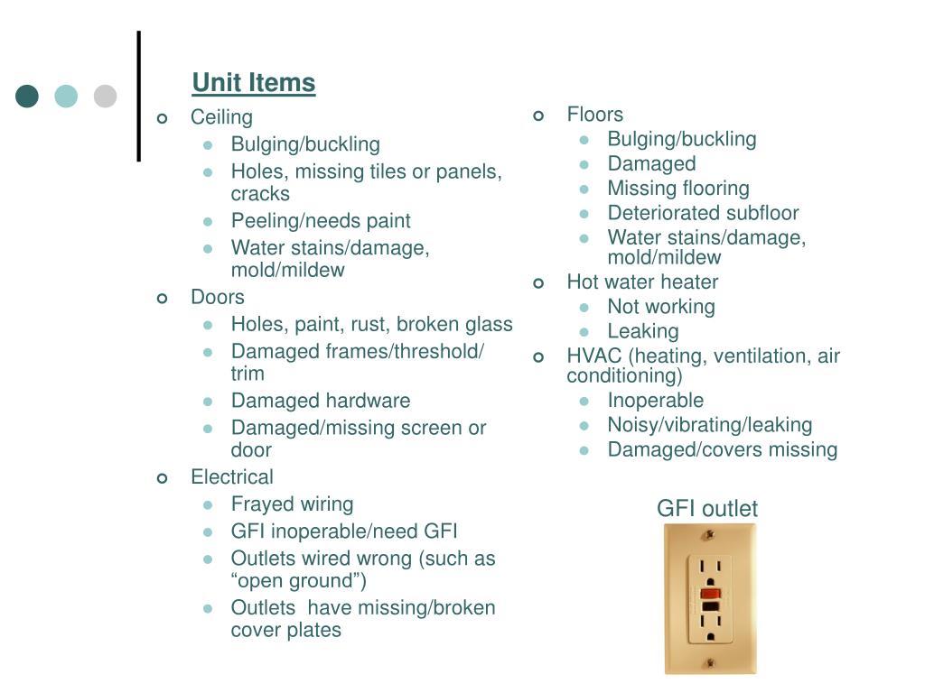 Unit Items