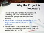 why the project is necessary4