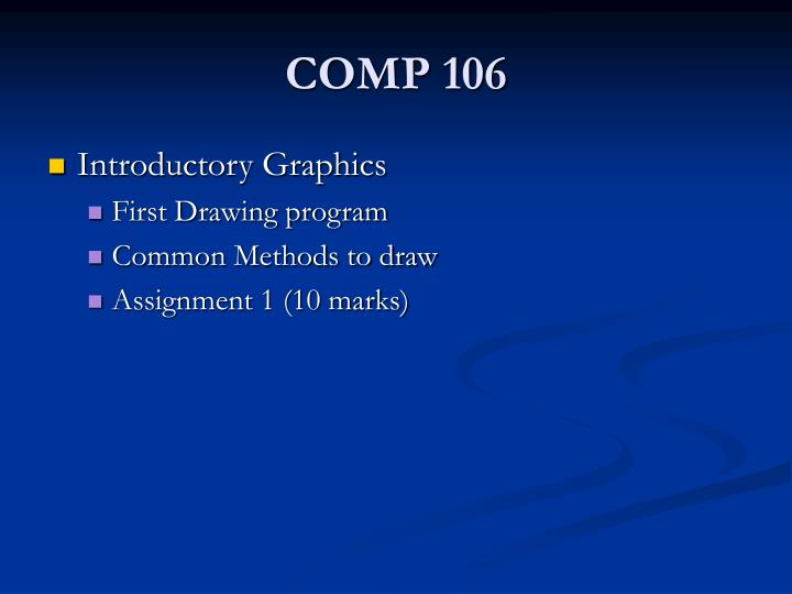 Comp 1061