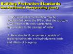 building protection standards non residential floodproofing cont