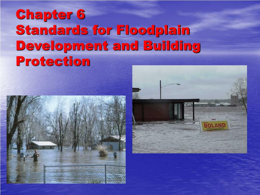 chapter 6 standards for floodplain development and building protection l.