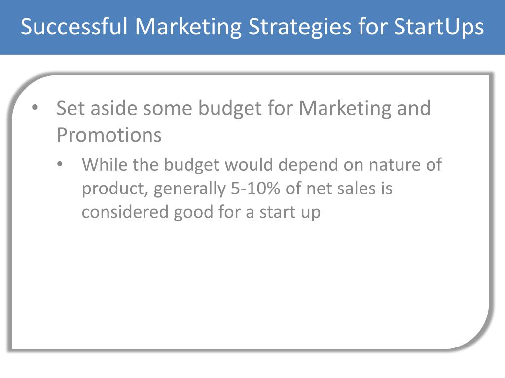 Successful Marketing Strategies for