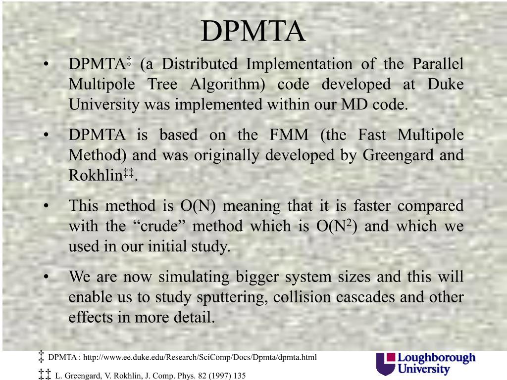 DPMTA