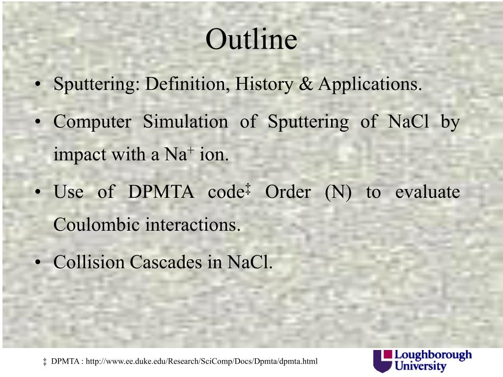 Sputtering: Definition, History & Applications.