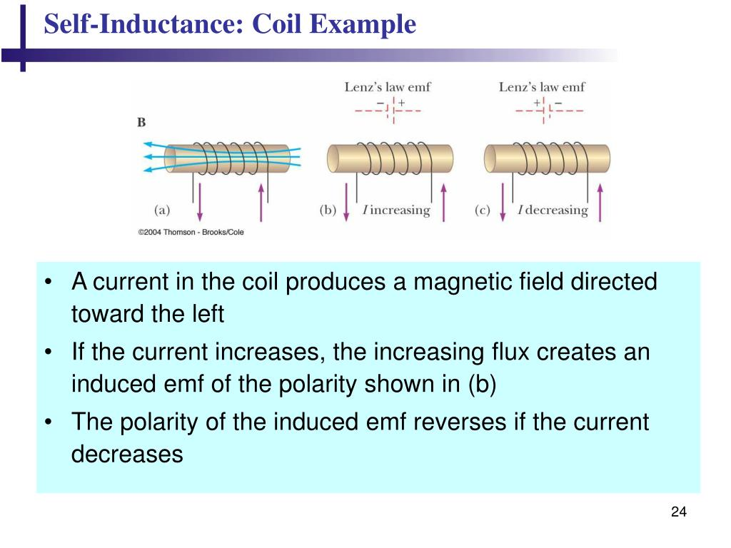Self-Inductance: Coil Example