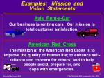 examples mission and vision statements2