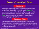 recap of important terms3