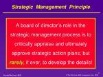 strategic management principle1