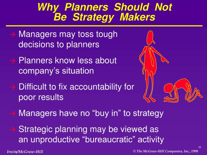 Why  Planners  Should  Not