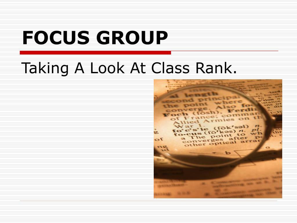 focus group l.
